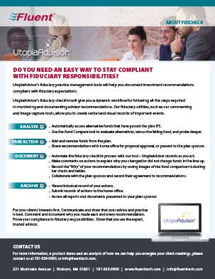 UtopiaAdvisor Fiduciary Checklist