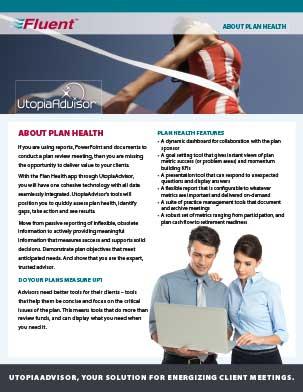 UtopiaAdvisor Plan Health